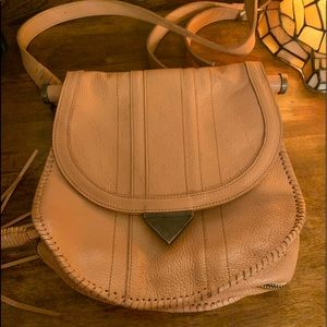 High quality leather crossbody purse